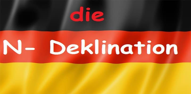 N deklinacija imenica u nemačkom jeziku