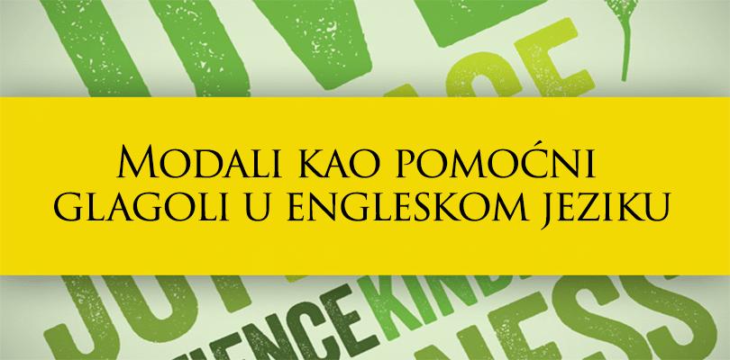 Modali kao pomoćni glagoli u engleskom jeziku