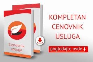 Cenovnik kurseva stranih jezika Beograd