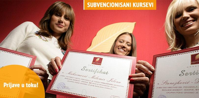 Subvencionisani kursevi jezika za nezaposlena lica