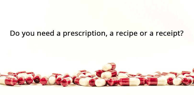 Medicinski i kulinarski recept u engleskom jeziku